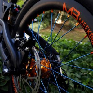 "Meek Boyz Carbon Wheelsets 20-24-26"" Rear"